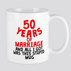 50 Years Of Marriage Mugs