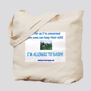 Dairy Allergy/Tote Bag