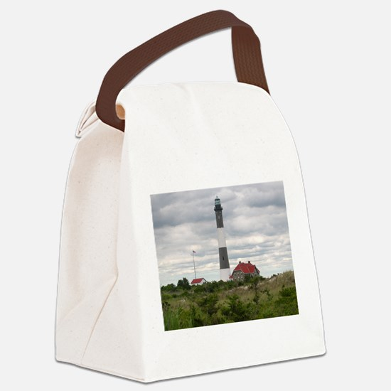 ROBERT_MOSES_STATE_PARK_LIGHTHOUS Canvas Lunch Bag
