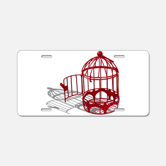 BirdHouse092110.png Aluminum License Plate