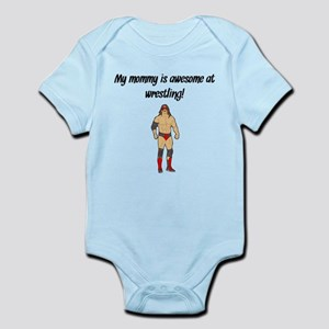 My Mommy Is Awesome At Wrestling Body Suit