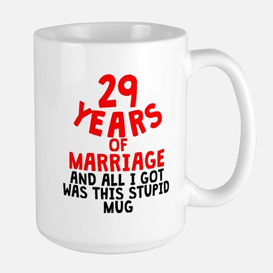 29 Years Of Marriage Mugs