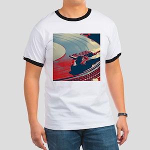 vintage retro record player T-Shirt