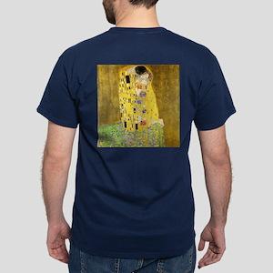 The Kiss by Klimt Dark T-Shirt