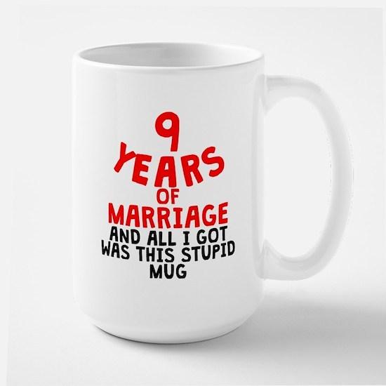 9 Years Of Marriage Mugs