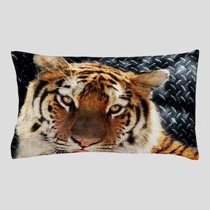 modern grunge cool tiger Pillow Case