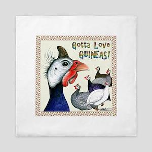 Gotta Love Guineas! Queen Duvet
