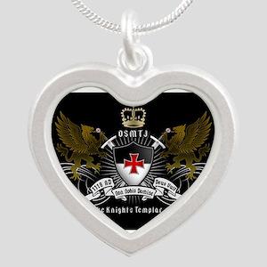 OSMTJ on Black Background Necklaces