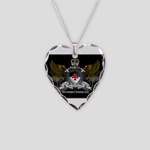 OSMTJ on Black Background Necklace
