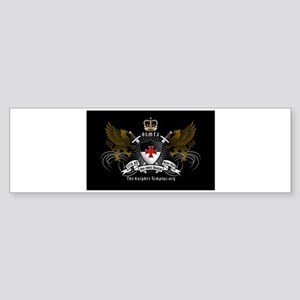 OSMTJ on Black Background Bumper Sticker