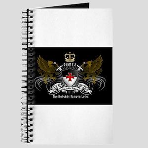 OSMTJ on Black Background Journal