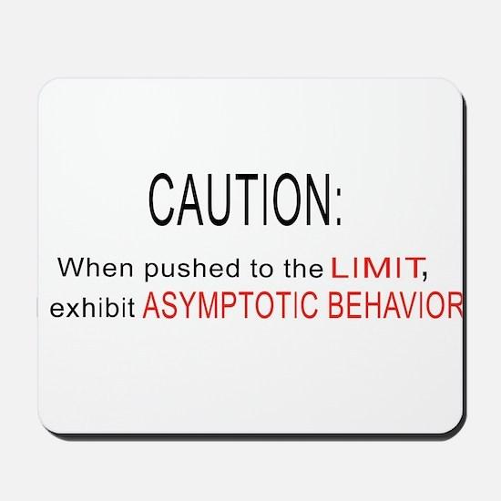 Asymptotic Behavior Mousepad
