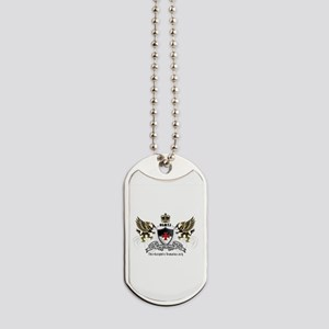 OSMTJ Logo on White Background Dog Tags