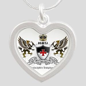 OSMTJ Logo on White Background Necklaces