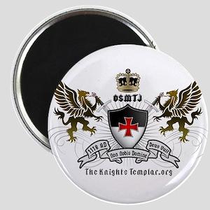 OSMTJ Logo on White Background Magnets