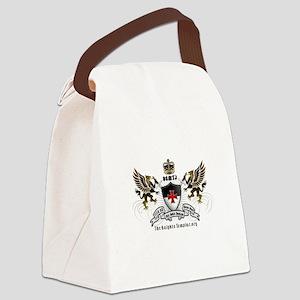 OSMTJ Logo on White Background Canvas Lunch Bag