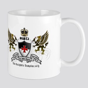 OSMTJ Logo on White Background Mugs