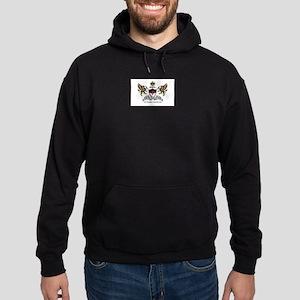 OSMTJ Logo on White Background Hoodie