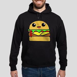 kawaii cheeseburger  Hoodie (dark)