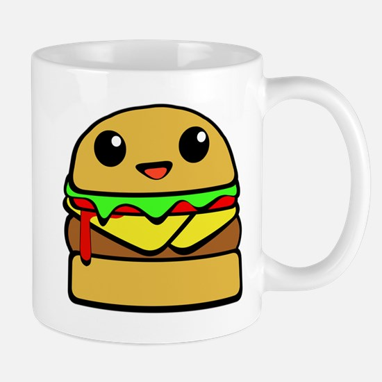 kawaii cheeseburger  Mug