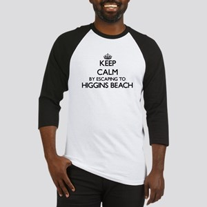 Keep calm by escaping to Higgins B Baseball Jersey