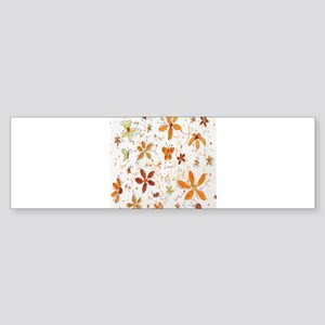 autumn colors Bumper Sticker