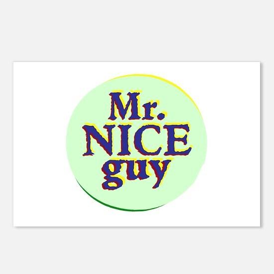 Mr. Nice Guy Postcards (Package of 8)