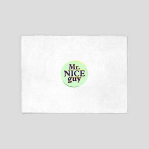 Mr. Nice Guy 5'x7'Area Rug