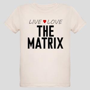 Live Love The Matrix Organic Kid's T-Shirt