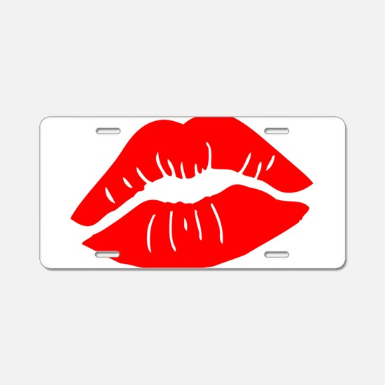 Funny Valentines Day Gift Aluminum License Plate