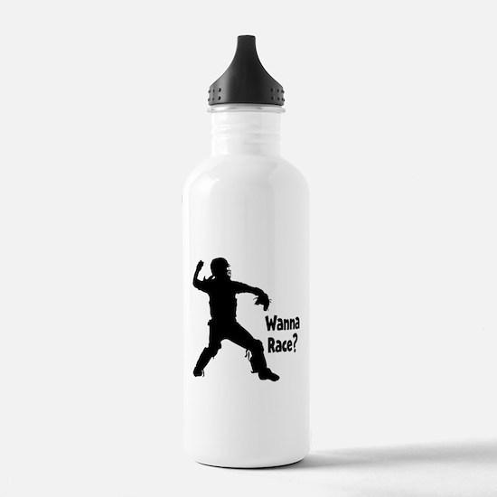 WANNA RACE? Water Bottle