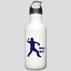 WANNA RACE? Stainless Water Bottle 1.0L