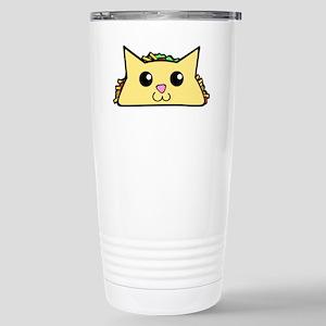 Taco Cat Stainless Steel Travel Mug