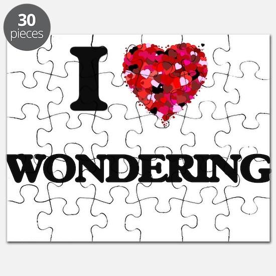 I love Wondering Puzzle