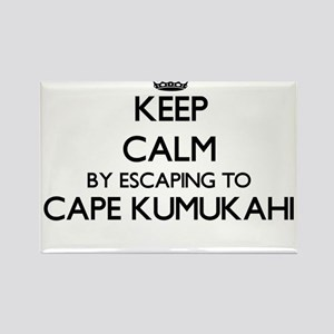 Keep calm by escaping to Cape Kumukahi Haw Magnets