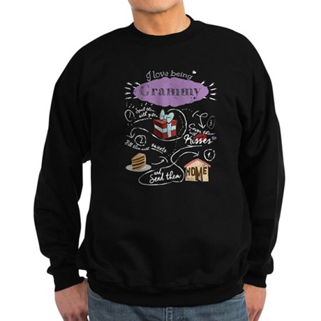 I Love Being Grammy Shirt Great Grandma Sweatshirt