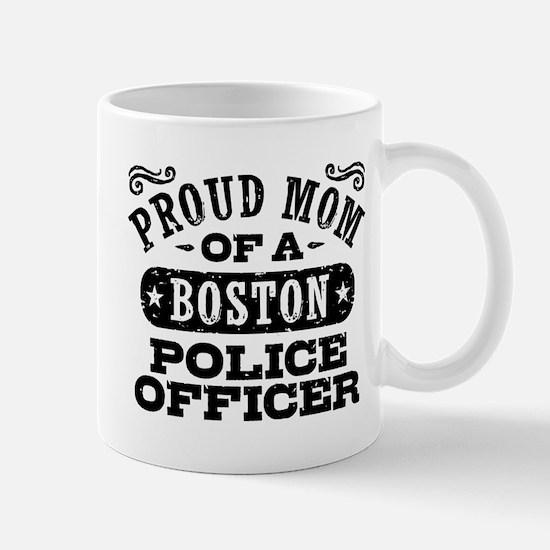 Proud Mom of a Boston Police Officer Mug