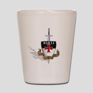 Knights Templar Logo Shot Glass
