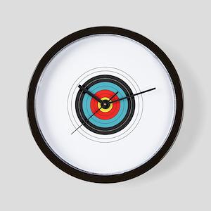 Archery Target Wall Clock