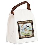 Nationals Logo 2015 Canvas Lunch Bag