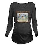 Nationals Logo 2015 Long Sleeve Maternity T-Shirt