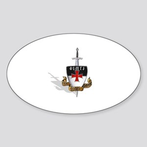 Knights Templar Logo Sticker