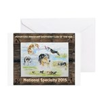 Nationals Logo 2015 Greeting Cards