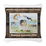 Nationals Logo 2015 Woven Throw Pillow