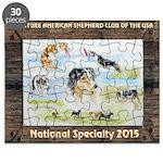Nationals Logo 2015 Puzzle