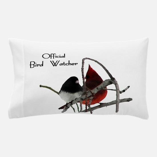 Official Bird Watcher Pillow Case