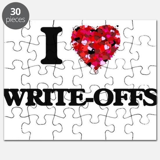 I love Write-Offs Puzzle