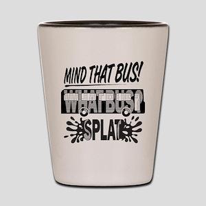 Splat (Black) Shot Glass
