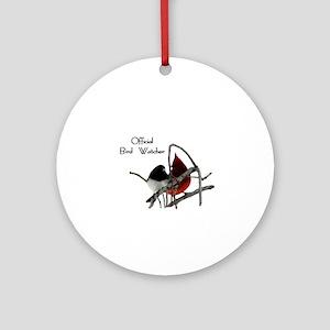Official Bird Watcher Ornament (Round)