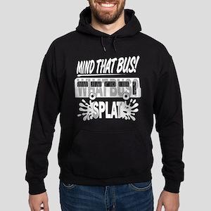 Splat (Black) Hoodie